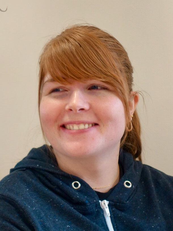 Rebecca Babkin, Customer Service Advisor/ Lab Assistant