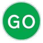 Go road sign.