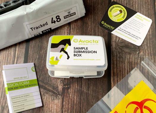 Avacta Animal Health Submission Box Contents